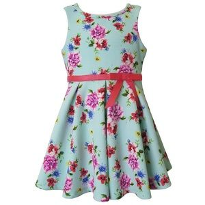 Lily sleeveless floral dress size 2T